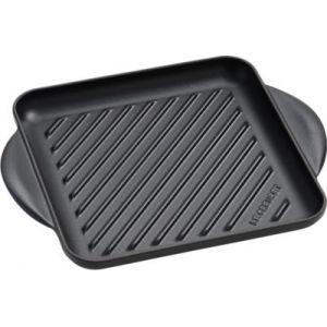 Le Creuset Poêle grill noir 24 cm