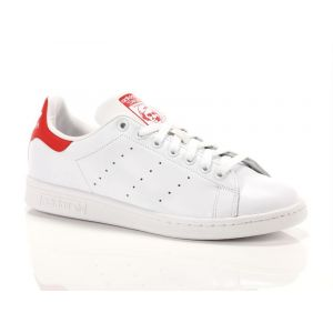 Adidas Stan Smith chaussures blanc rouge 44 2/3 EU