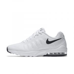Nike Air Max Invigor, Chaussures de Running Compétition Homme, Schwarz, 41 EU, Blanc (White/Black 100), 46 EU