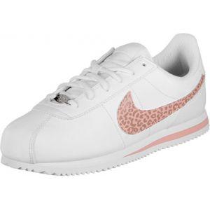 Image de Nike Cortez Basic SL (GS), Chaussures de Running Compétition Femme, Multicolore (White/Coral Stardust 102), 38.5 EU