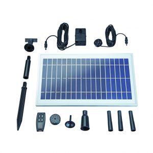 pontec Fontaine solaire télécommandée Pondo Solar 600 Control