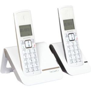 Alcatel Versatis F230 Duo - Téléphone sans fil 2 combinés