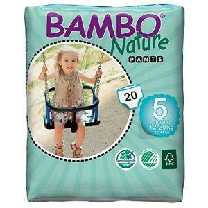 Bambo Nature Couche-culottes d'apprentissage jetables taille 5 12-20 kg - 20 unités