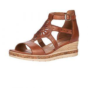 Remonte : sandales à bride - - Marron - Taille 41