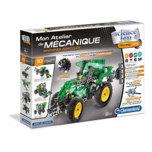 Clementoni Mon atelier de mécanique Machines agricoles