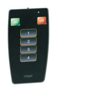 Hager EE808 Téléco. utilisateur dét. de présence