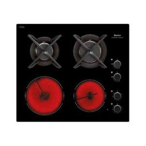 Sauter SPG4466MB - Table de cuisson mixte gaz et électrique