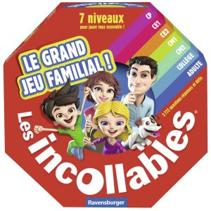 Ravensburger Incollables : le grand jeu familial !