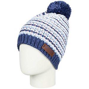 Roxy Anamudi - Bonnet avec pompon pour Femme - Bleu de0e5616d5a