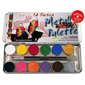 Corvus Peintures - Palette de maquillage à base d'eau - Eulenspiegel, Couleur