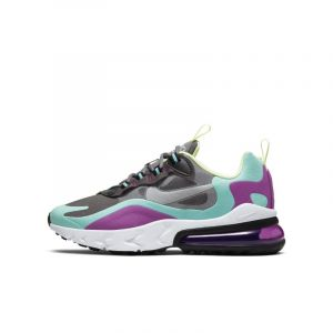 Nike Chaussure Air Max 270 React pour Enfant plus âgé - Gris - Taille 36.5 - Unisex