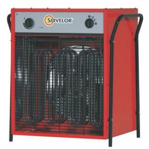 Sovelor Chauffage électrique triphasé air pulsé mobile-C22 - -
