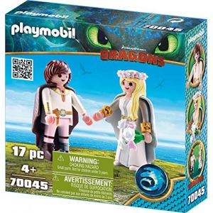 Playmobil Dragons - Astrid et Harold - 70045