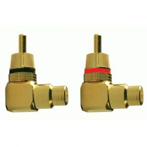 Phonocar Connecteur 90° RCA