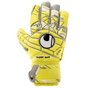 Uhlsport Gants de Gardien Eliminator Supersoft - Jaune/Gris