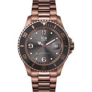 Ice Watch Ice-Watch - ICE steel Bronze - Montre marron pour homme avec bracelet en metal - 016767 (Large)