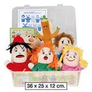 Akros Interdidak 6 marionnettes Les émotions