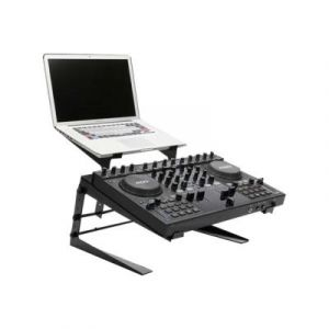 Ibiza Sound SUPPORT DOUBLE POUR PC PORTABLE ET MONITOR POUR REGIE DJ