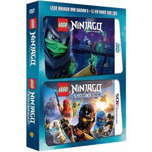 LEGO Ninjago, Les maîtres du Spinjitzu - Saison 5 [DVD + Jeu vidéo Nintendo 3DS]
