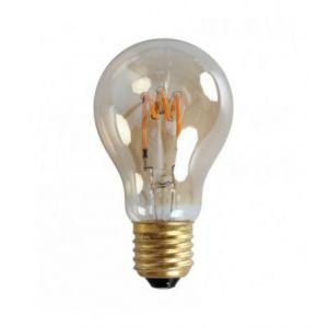 Ampoule LED rétro Edison Classique (D.6cm) filament twist 3,6W (E27)