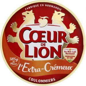 Coeur de lion Coulommiers l'extra cremeux - La boite de 385g