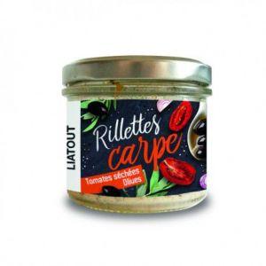 Liatout Aquaculture Rillettes Carpe Tomates Séchées Olives Liatout 90 gr