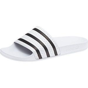 cheap for discount 27855 5c965 Adidas Adilette tong blanc noir