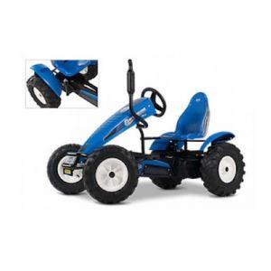 Berg Toys Kart à pédales assistées New Holland E-BFR 6 ans et +