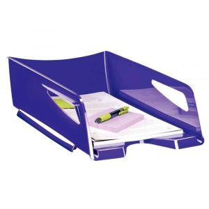 CEP Office Solutions Corbeille à courrier Maxi Gloss - 24 x 32 cm - L38,6 x H11,5 x P27 cm - violet