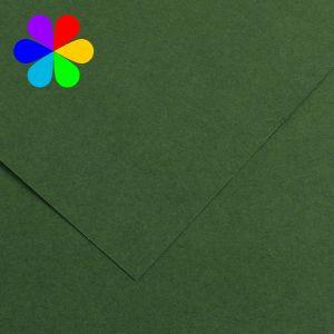 Canson 200040808 - Feuille Iris Vivaldi A4 240g/m², coloris vert sapin 31