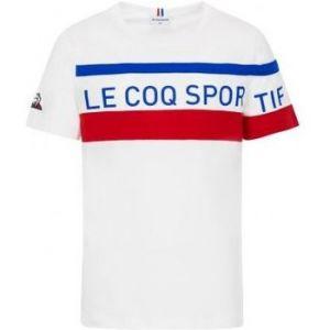 Le Coq Sportif T-shirt enfant TRI Tee SS N°2 Enfant blanc - Taille 6 ans,8 ans,10 ans,12 ans,14 ans