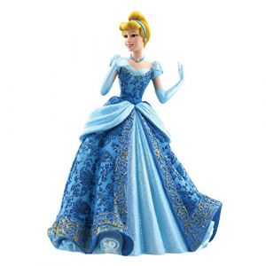 Figurine Cendrillon en robe de bal bleue Showcase