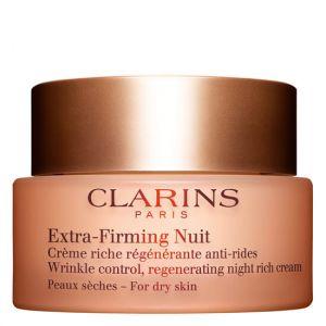 Clarins Extra-Firming Nuit - Crème riche régénérante anti-rides peaux sèches