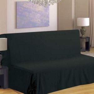 Homemaison Housse de canapé pour BZ Noir 140 x 190 cm