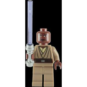 Lego Mini-figurine Star Wars : Mace Windu avec Lightsaber violet