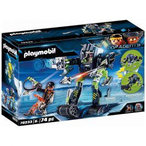 Playmobil TOP AGENTS Figurine robot des neiges Rebelles Arctiques 70233