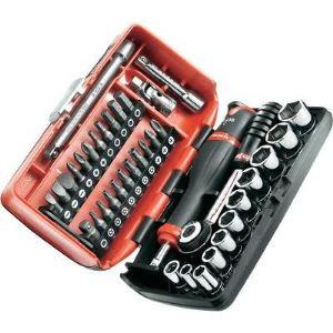 """Facom R2NANOPB - Coffret 1/4"""" de 38 outils cliquet traditionnel"""