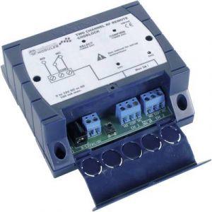Velleman Ensemble émetteur / récepteur 2 canaux 433 MHz kit monté Portée max. (en champ libre) 30 m VM130