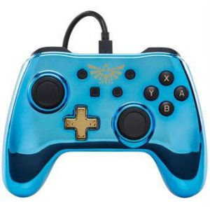PowerA Manette filaire Nintendo Switch Chrome Legend of Zelda