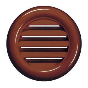 Awenta Brown ronde porte de menuiserie porte d'aération grille de bois mobilier 40mm diamètre trou