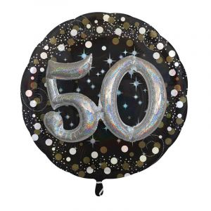 Folieballon 50 Birthday Sparkling Celebr [Party Supplies]