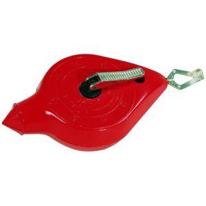 Taliaplast 400461 - Cordeau boîtier métallique longueur 30 mètres sous blister plastique