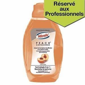 Nicols Désodorisant mèche -parfum pêche - 375ml