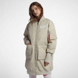 Nike Parka Sportswear NSW pour Femme - Crème - Taille M