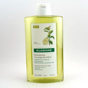 Klorane Légéreté - Shampooing à la pulpe de Cédrat 400ml