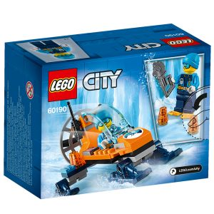 Lego 60190 - City : L'aéroglisseur arctique