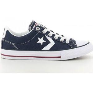 Converse Lifestyle Star Player Ev Ox, Sneakers Basses mixte enfant, Bleu (Navy/White 410), 38.5 EU