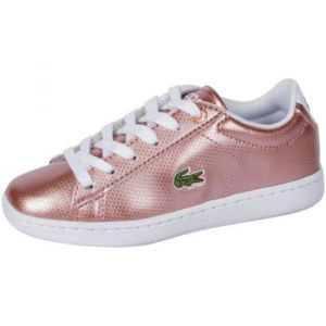 Lacoste Baskets enfant Baskets CARNABY EVO 119 6 SUC rose - Taille 29,30,31,32,33,33 1/2