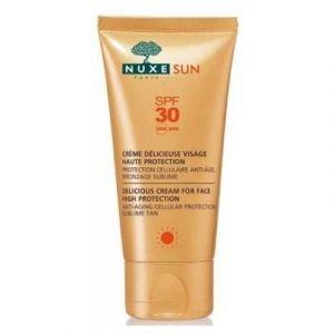 Nuxe Sun - Crème délicieuse visage SPF30