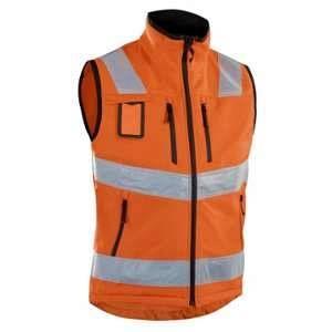 Blaklader Gilet Softshell haute visibilité Orange 3049 - Orange - XXXL